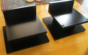 Speaker Stands Pair, Solid & Pristine, Perfect for Most Bookshelve Speakers, Gre