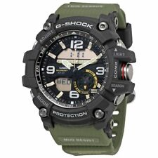 G-Shock Men's Analog-Digital Mud Master Army Green Resin Strap GG1000-1A3