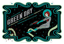 Green Day POSTER 2005 Tara Mcpherson Signed Numbered Edition Of 225