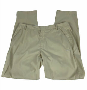 Puma Mens Dry Cell Golf Pants Size 36W 34L Beige