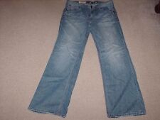 Marc Ecko  Mens Pants Denim Blue Jeans Size 36 X 33 Boot Cut and Sew