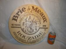 Wooden cheese box, crate, restaurant advertising publicity, wall decoration Brie
