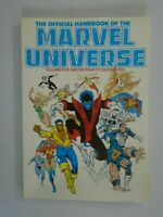 Official Handbook of the Marvel Universe TPB #5 SC 6.5 FN+ (1987)
