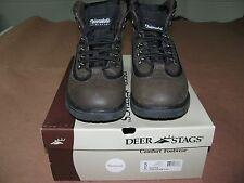 Deer Stags Brand, Buster Style, Boys Size 5. Dark Brown, Water-proof