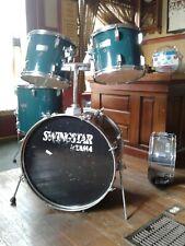 Vintage Tama SwingStar 80's rare green  5 Pc Drum kit Vintage
