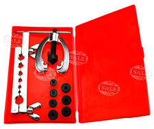 Single/Double Pipe Flaring/Flares Tool Kit 9pc Copper/Aluminium+Red Case