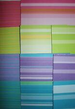 Lot 128 Making Memories Coastline Bold Stripe Scrapbook Cardstock Paper 12x12