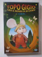 DVD TOPO GIGIO GIRA IL MONDO IN 80 GORNI-EUROPA-