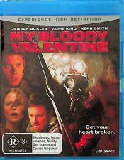My Bloody Valentine -2009 American Slasher Horror Blu Ray (NEW) Jensen Ackles
