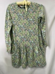 Fat Face 10-11 Green Floral Tunic Girls