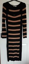 LADIES SIZE 8 LONG STRIPED OASIS DRESS