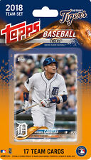 Detroit Tigers 2018 Topps Factory Sealed Team Set Cabrera Martinez Iglesias plus