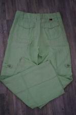 Mergler * Damenhose * Grün * 100% Leinen * Gerades Bein * Fröhlich * Gr 38