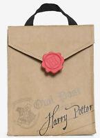 Harry Potter Hogwarts Letter Insulated Lunch Sack Cooler Bag Camp School 2020