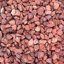 25KG BAG Decorative Aggregate RED GRAVEL CHIPPINGS 20mm | NEXT DAY DELIVERY