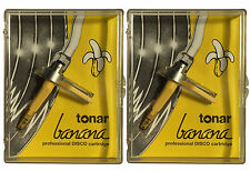 2x tonar Banana DJ-système comme set Nouveau Concorde made by ORTOFON DJ aiguille
