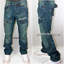 Vrai Peviani Designer Cargo / Combat Étoile Jean, Argent G Temps Est Droit Jeans