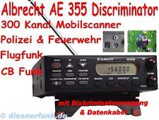 Funkscanner Albrecht AE 355 Discriminator Polizeifunk Feuerwehr Flugfunk CB AIR