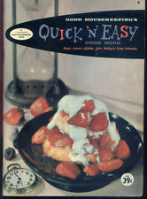 VINTAGE GOOD HOUSEKEEPING'S QUICK 'N' EASY COOK BOOK TIME SAVES DISHES