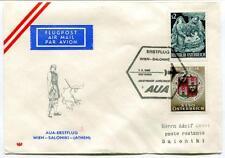 FFC 1966 Austrian Airlines AuA Volo Speciale Wien Saloniki Atene Grecia
