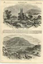 1855 tchernaya tchourgoun PASS di barglar SARDO CAMP