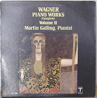WAGNER PIANO WORKS VOLUME II-NM1963?LP Martin Galling