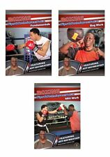 Boxing Tips and Techniques 3 DVD Set featuring Jeff Mayweather - Free Shipping
