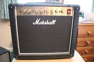 MARSHALL DSL5CR 2020 SLIGHTLY USED WITH FOOTSWITCH 5 WATT TUBE GUITAR AMPLIFIER