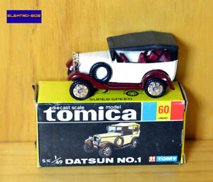 Tomica [Japan] Datsun No.1 Tourer - New/Boxed/**RARE** Vintage