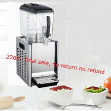 Commercial cafeteria beverage machine single-cylinder Slush Frozen Drink Machine