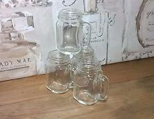Mason Jar bicchierini da liquore. MINI barattoli di vetro 50ml. in Stile Retrò Vintage Regalo Festa Matrimonio