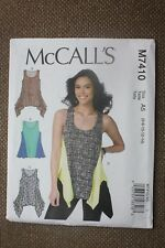 McCall's Sewing Pattern Misses Tops Size 6-8-10-12-14