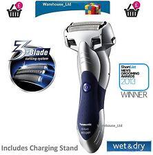 Panasonic 3 Cuchilla Afeitadora eléctrica de 41S Mojado Seco emergente Trimmer Essl Hombres Acero Inoxidable Nuevo