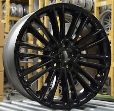 "18"" Ford Fusion 2013 2014 2015 2016 Factory OEM Rim Wheel 3960 Gloss Black"