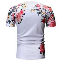 Blouse casual short sleeve muscle tee tops t shirts summer o neck t shirt