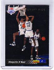 Shaquille O'Neal Rookie 1992 Upper Deck #1 1A HOF