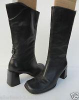 PETER KAISER # schöne STIEFEL Gr. 37,5 schwarz Leder Damen Schuhe Stiefeletten
