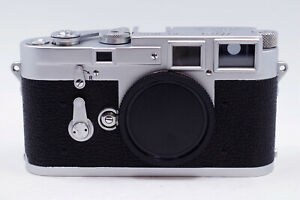 Mint- Leica M3 DS Double Stroke Early 100K 35mm Rangefinder Film Camera L Seal
