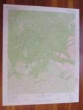 Crystal Lake California 1974 Original Vintage Usgs Topo Map