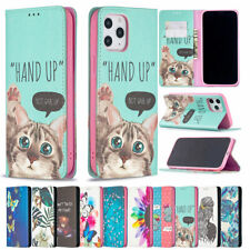 For iPhone 12 11 Pro Max XS XR X 8 7 Plus SE2 Magnetic Closure Stand Wallet Case