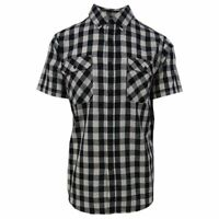 Rip Curl Men's Checkered S/S Woven Shirt (Retail $55)