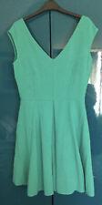 Armario Floral Vestido Verde Teal/Talla 12