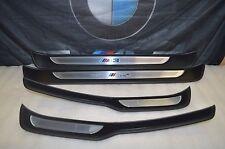 2008-2013 BMW E90 M3 DOOR SILLS PLATES STEP PADS OEM