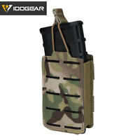 IDOGEAR Tactical LSR 556 Mag Pouch Single Mag Carrier MOLLE Pouch Laser Cut MC