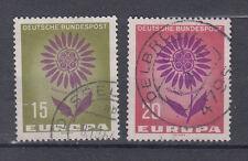 BRD FRANCOBOLLI 1964 Europa mi.nr.445+446 timbrato