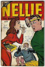 "Nellie the Nurse #5 - 3 pages Harvey Kurtzman's ""Hey Look"" - GGA - TGL"