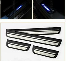 Stainless Steel Led Door Sill plate Guard protector Cover For Honda Crosstour