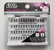 (LOT OF 10) Ardell Duralash Knot-Free DOUBLE UP SHORT Individual Eyelashes