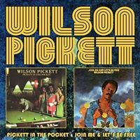Wilson Pickett – Pickett in the Pocket/Join Me and Let's Be Free (2015)  CD NEW