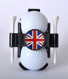 Ball Buddy Golf Ball Holder with National Flag Ball Marker - UK